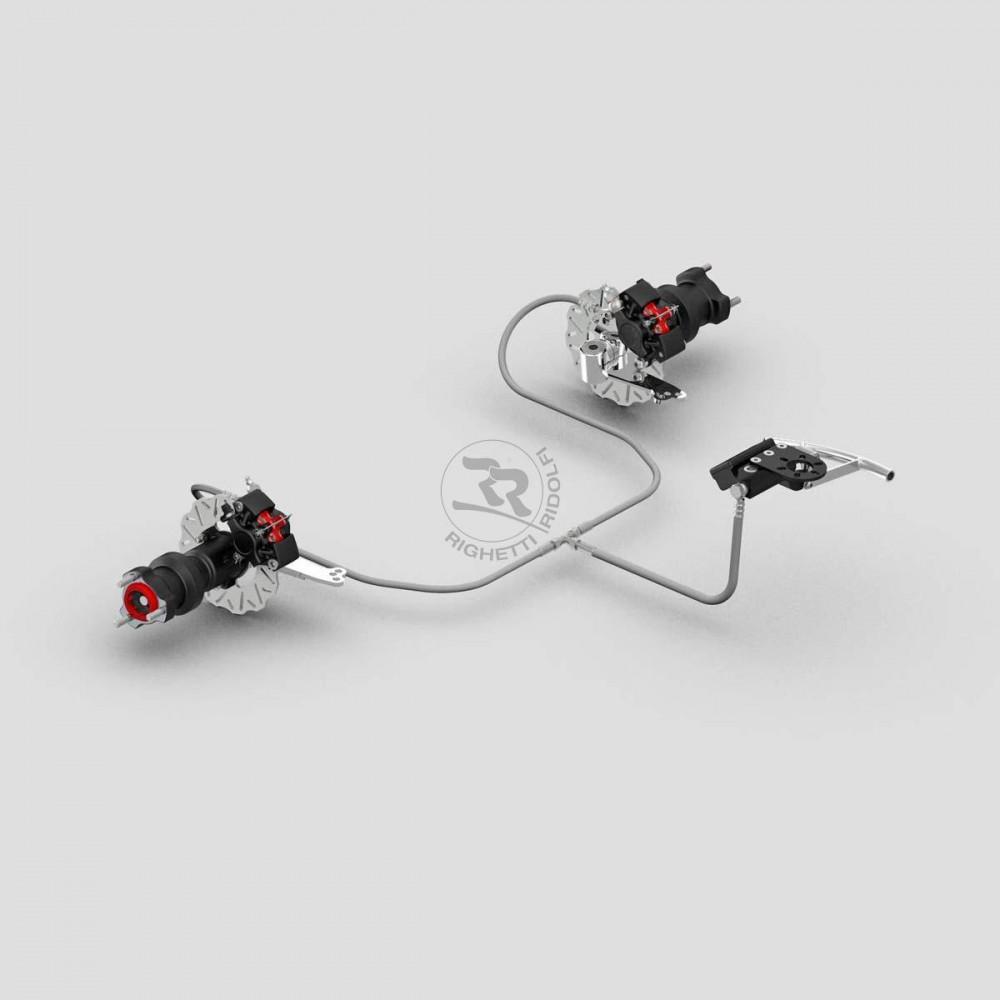 systeme de freinage anterieur complet ma20 wh noir carrosseries et pare chocs syst mes de frein. Black Bedroom Furniture Sets. Home Design Ideas