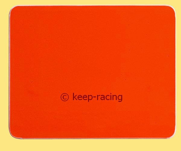 Klebefolie f r nummerntafel rot chassis zubeh r for Klebefolie rot